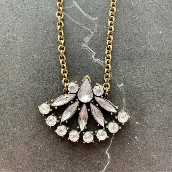 Subtle but beautiful gold statement necklace